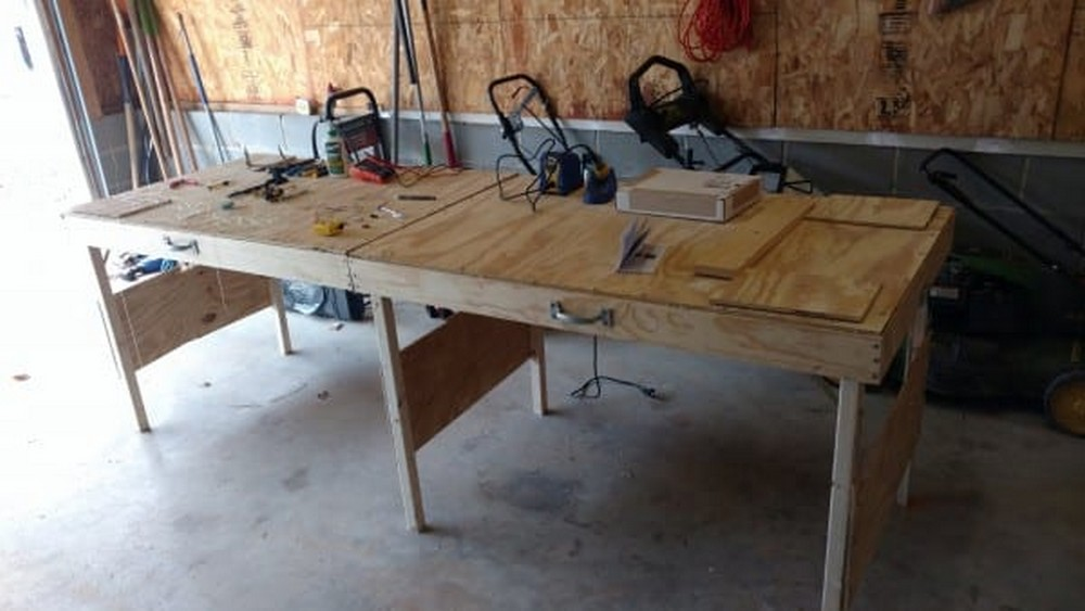 Portable Workbench Or Folding Table