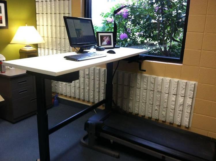 Standing and Treadmill Desk DIY