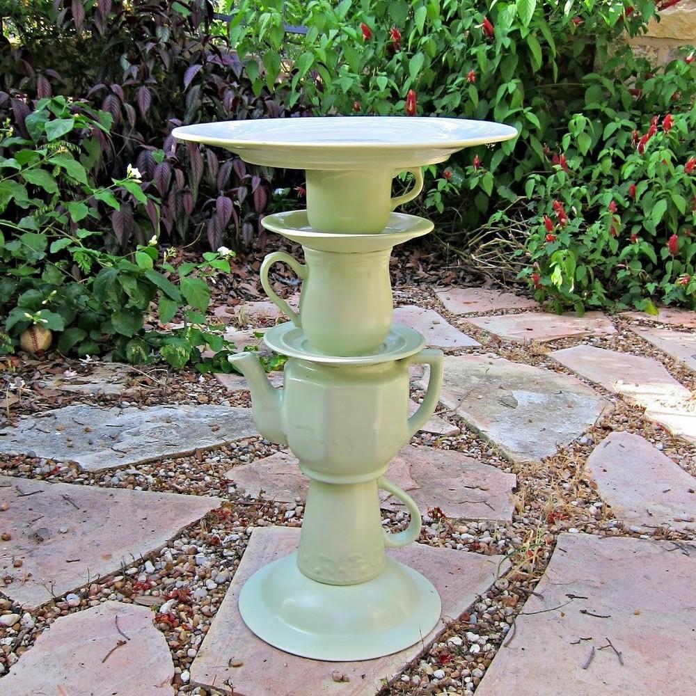 Tea Pot Bird Bath